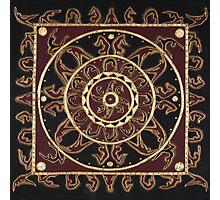 Yoga Mandala Photographic Print