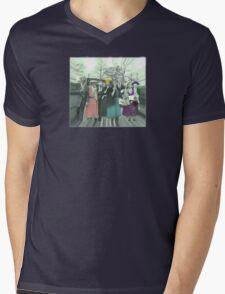 Zombie Squad Mens V-Neck T-Shirt