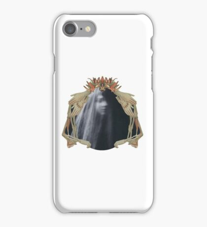 Queen of Darkness: Paper Bunnies & Light Witch  iPhone Case/Skin