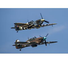 Spitfire and Hurricane Photographic Print