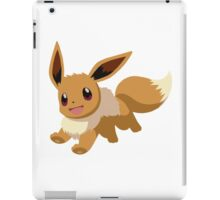 Evee Pokemon Simple No Borders iPad Case/Skin