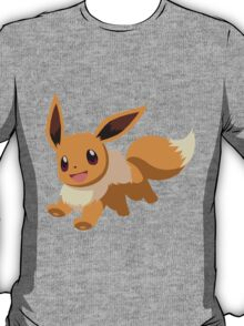 Evee Pokemon Simple No Borders T-Shirt