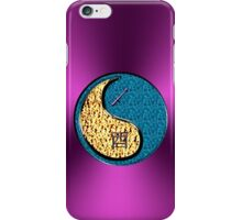 Sagittarius & Rooster Yin Water iPhone Case/Skin