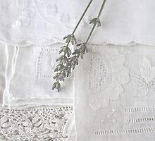 Lavender & Linen by Evelyn Flint - Daydreaming Images
