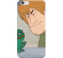 You know he about to lick that frog... iPhone Case/Skin