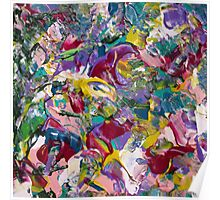 Abstract Floral Design  Poster