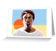 Gambino is a Mastermind Greeting Card