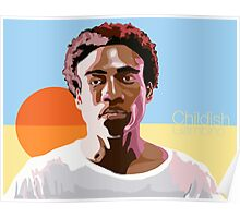 Gambino is a Mastermind Poster