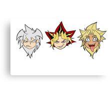 Yu-Gi-Oh! Yamis Canvas Print