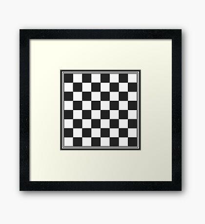 Chessboard Framed Print