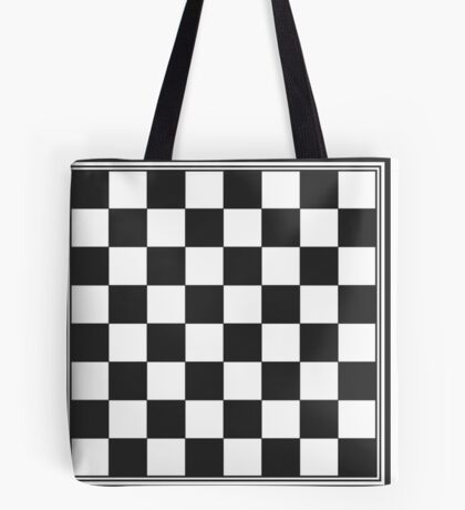 Chessboard Tote Bag