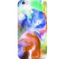Smudge Paint Abstract #2 iPhone Case/Skin