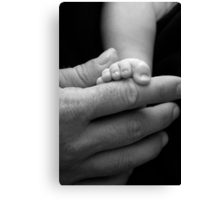Tiny Toes Canvas Print