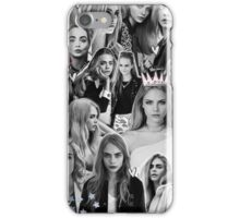 Cara Delevinge Collage Phone Case iPhone Case/Skin