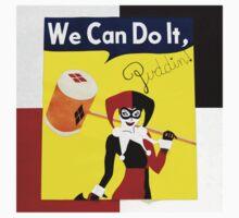 Harley Quinn as Rosie the Riveter T-Shirt