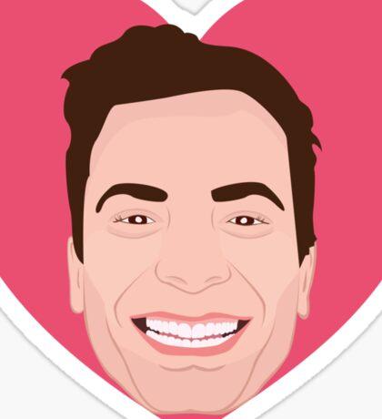 I Heart Jimmy Sticker