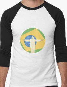 Christ the Redeemer Men's Baseball ¾ T-Shirt