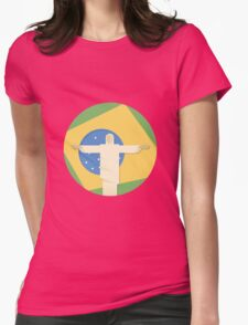 Christ the Redeemer Womens Fitted T-Shirt