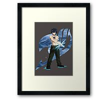 Ice Wizard Framed Print