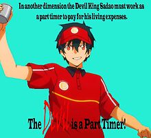 The Devil is a Part Timer! Sadao Maou by Charlottesw3b