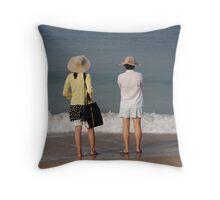 Goa beach, India Throw Pillow