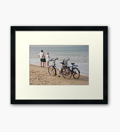 Goa beach, India Framed Print