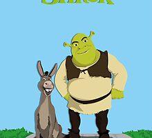 Shrek & Donkey by EvanTapper