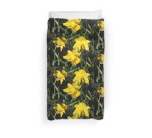 Daffodils Dreaming Duvet Cover