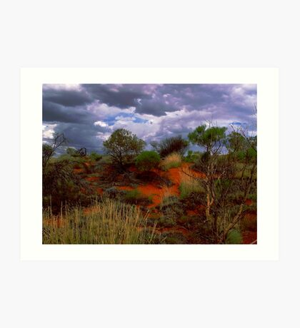Central Australia II Art Print