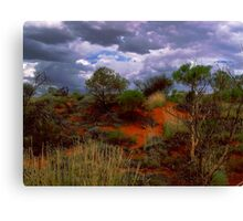 Central Australia II Canvas Print