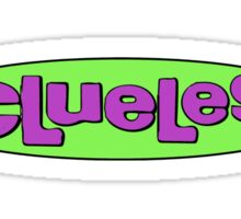 clueless logo  Sticker