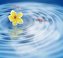 Tahitian Pond by Linda Allan