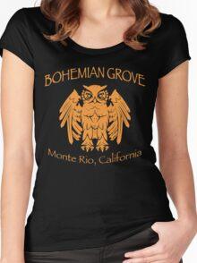 Bohemian Grove - Monte Rio, California Women's Fitted Scoop T-Shirt
