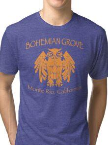 Bohemian Grove - Monte Rio, California Tri-blend T-Shirt