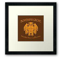 Bohemian Grove - Monte Rio, California Framed Print