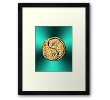 Sagittarius & Dog Yang Fire Framed Print