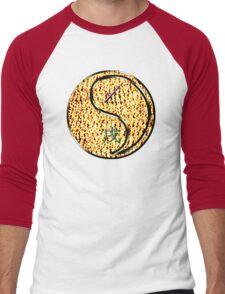 Sagittarius & Dog Yang Fire Men's Baseball ¾ T-Shirt