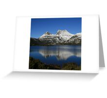 Cradle Snow Greeting Card