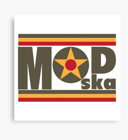 Mod - Ska Canvas Print