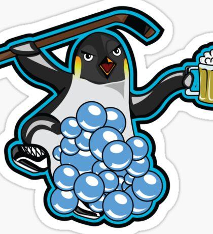 Team Soapy Penguin Sticker
