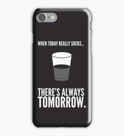 Half Full iPhone Case/Skin