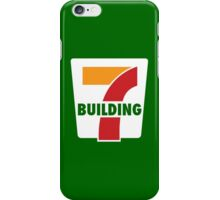 Building 7 Subversive '7 Eleven' Logo - Smoking Gun of 9/11 iPhone Case/Skin
