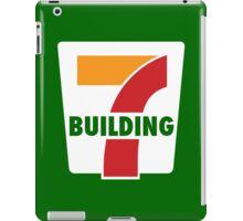 Building 7 Subversive '7 Eleven' Logo - Smoking Gun of 9/11 iPad Case/Skin