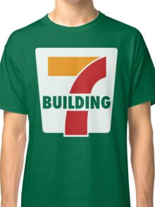 Building 7 Subversive '7 Eleven' Logo - Smoking Gun of 9/11 Classic T-Shirt