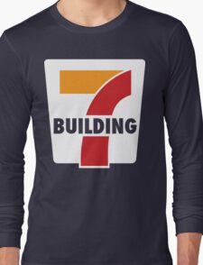 Building 7 Subversive '7 Eleven' Logo - Smoking Gun of 9/11 Long Sleeve T-Shirt