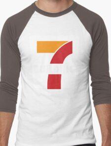 Building 7 Subversive '7 Eleven' Logo - Smoking Gun of 9/11 Men's Baseball ¾ T-Shirt