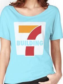 Building 7 Subversive '7 Eleven' Logo - Smoking Gun of 9/11 Women's Relaxed Fit T-Shirt