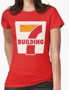 Building 7 Subversive '7 Eleven' Logo - Smoking Gun of 9/11 Womens Fitted T-Shirt