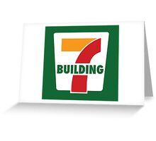 Building 7 Subversive '7 Eleven' Logo - Smoking Gun of 9/11 Greeting Card