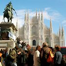 PIAZZA DUOMO-MILANO-ITALY by Aurora Pintore